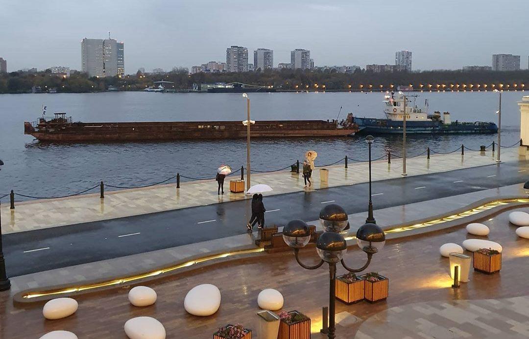 Причалы Москвы