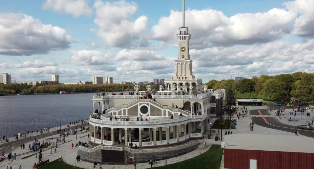 Купить билет на теплоход, Северный Речной Вокзал в Москве
